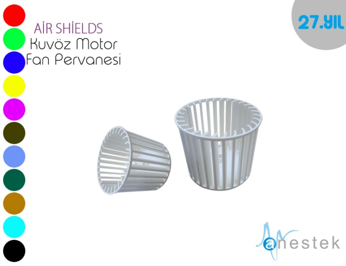 AIR SHIELDS KUVÖZ MOTOR FAN PERVANESİ