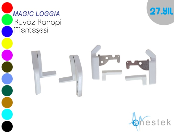 MAGIC LOGGIA KUVÖZ KABİN MENTEŞESİ