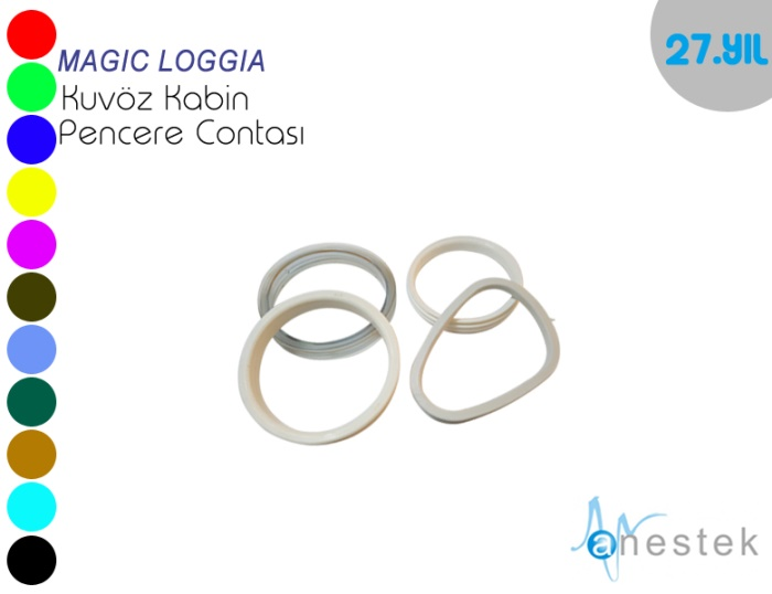 MAGIC LOGGIA KABİN PENCERE CONTASI