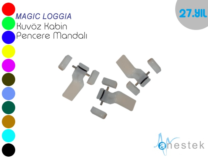MAGIC LOGGIA KUVÖZ PENCERE MANDALI