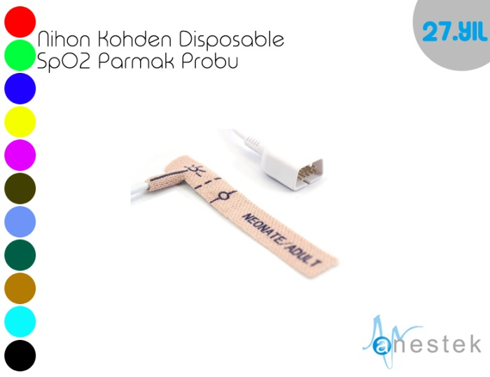 NIHON KOHDEN DISPOSABLE SpO2 PARMAK PROBU